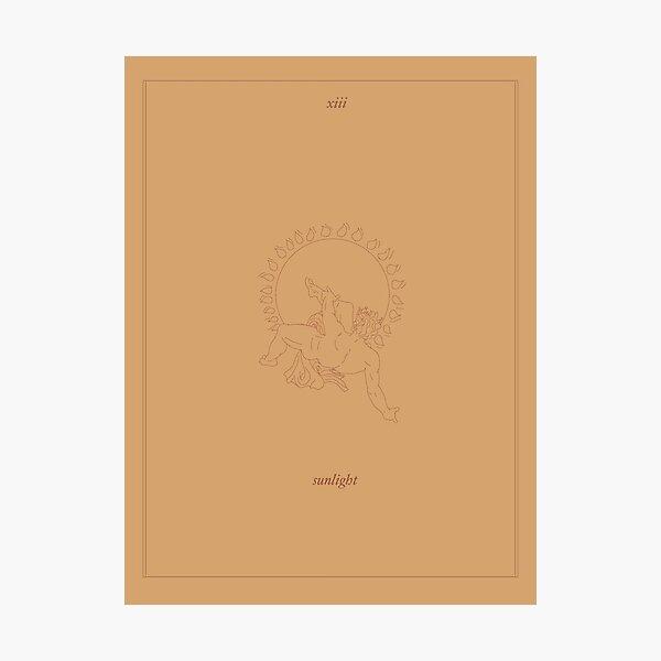 sunlight  - tarot card Photographic Print
