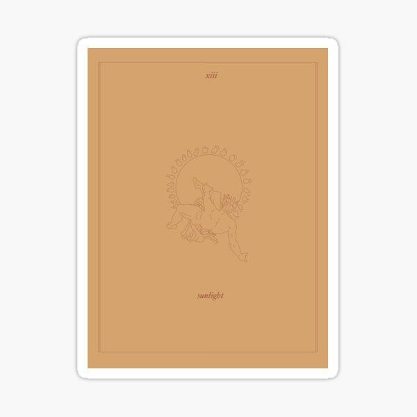 Sonnenlicht - Tarotkarte Sticker