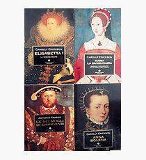 Geschichtsbücher von England Fotodruck