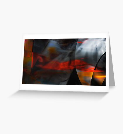 Burning Intuition  Greeting Card