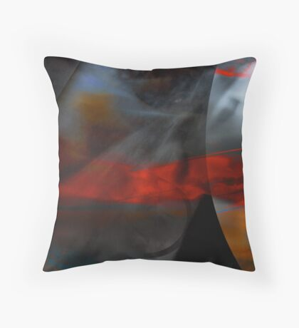 Burning Intuition  Throw Pillow