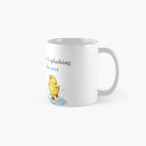 John Mulaney Duck Joke Classic Mug