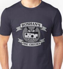 Roshan's Fine Cheeses Unisex T-Shirt