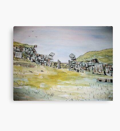 Milecastle 37 Canvas Print