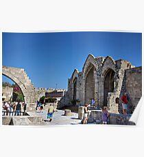 Church of Panagia tou Bourgou Poster