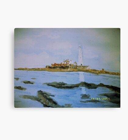 St Mary's Island Canvas Print