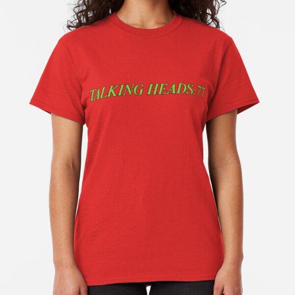 Talking Heads Shirt :77 Shirt, Sticker, Poster, Mask Classic T-Shirt