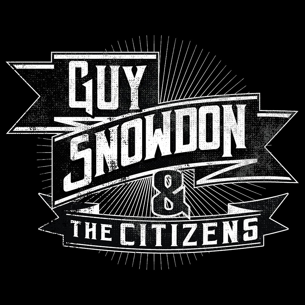Guy Snowdon & The Citizens with Star Design by Snowdonmusic
