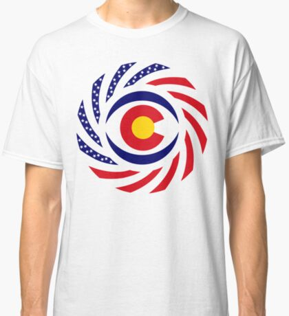 Coloradan Murican Patriot Flag Series Classic T-Shirt