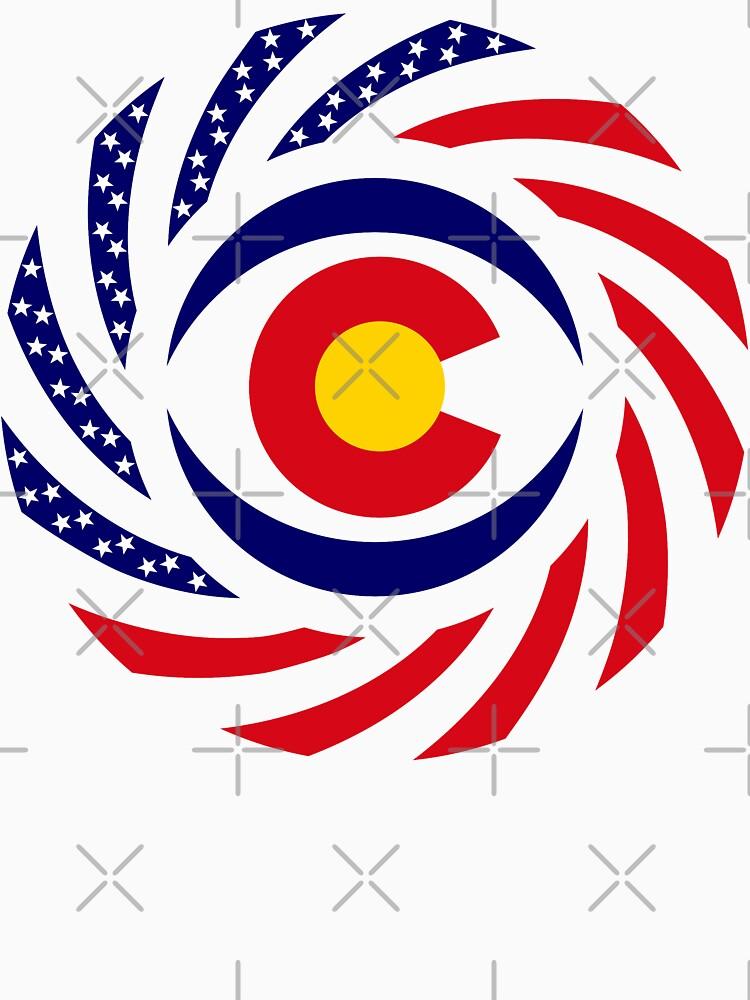 Coloradan Murican Patriot Flag Series by carbonfibreme