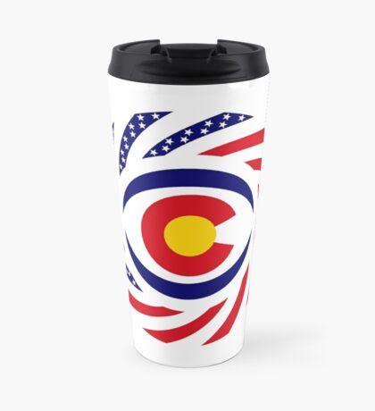 Coloradan Murican Patriot Flag Series Travel Mug