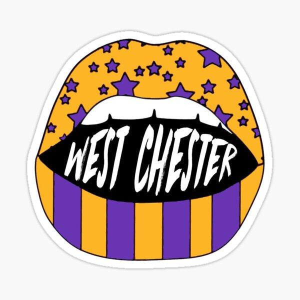 West Chester Lips Sticker