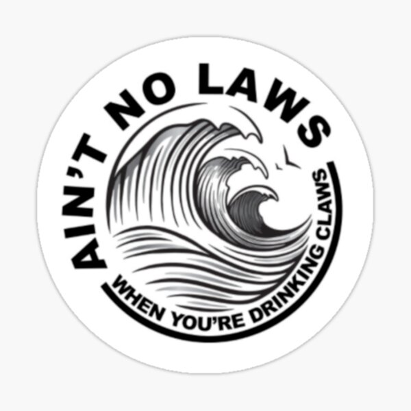 White Claws Sticker