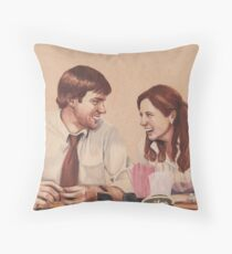 Best Dundies Ever (background free) Throw Pillow