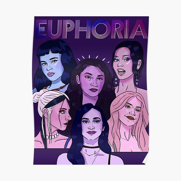 Euphoria HBO Girls Poster
