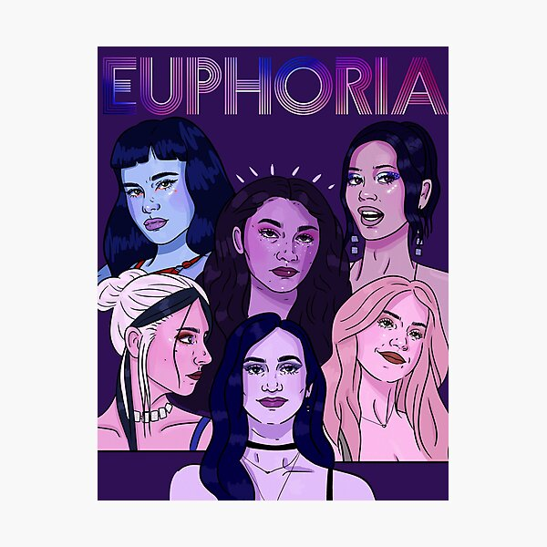 Euphoria HBO Girls Impression photo