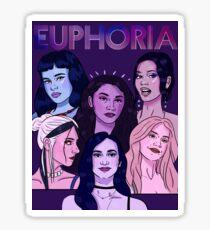 Euphoria HBO Girls Sticker