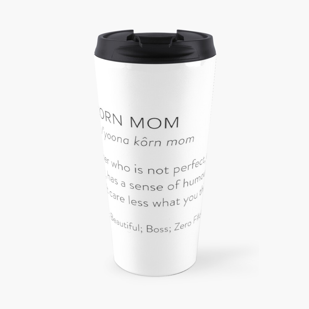Unicorn Mom Travel Mug