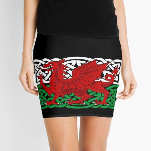Y Ddraig Goch Mini Skirt