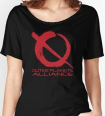 Outer Planets Alliance - Radical Version Women's Relaxed Fit T-Shirt