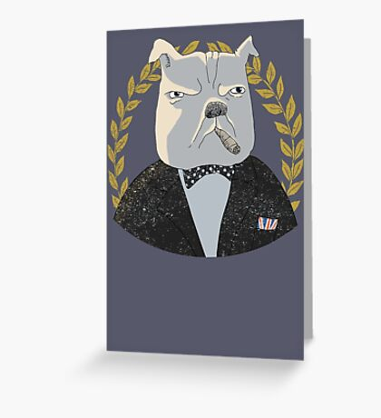 Winston Greeting Card