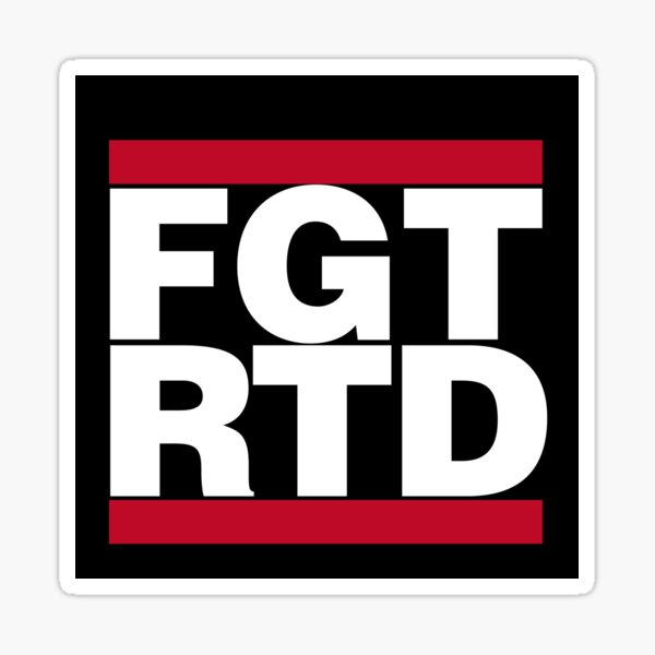Your Mom's House Podcast FGTRTD For Girls That Ride Til Death Sticker