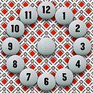 Red Diamond Golf Pattern by BigAl3D