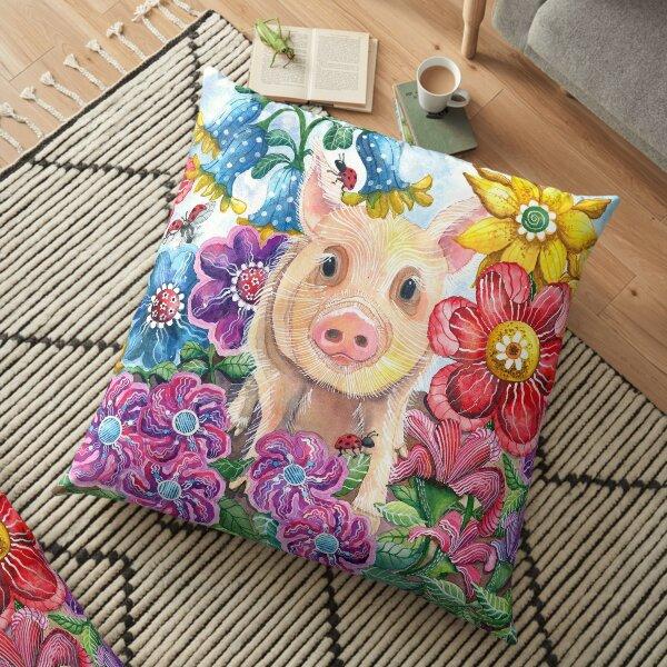 Penelope Pig Floor Pillow