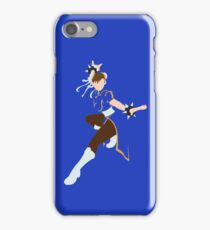 Chin-Li - Street Fighter - Minimalist iPhone Case/Skin