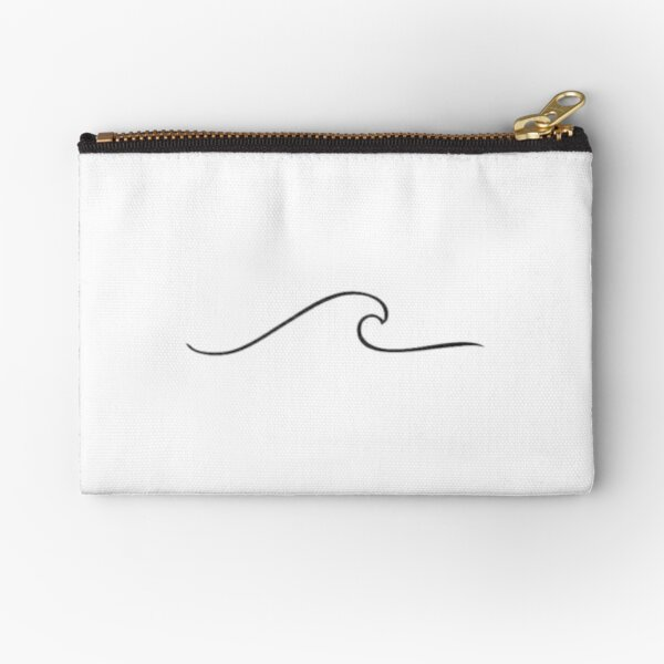 vsco wave Zipper Pouch