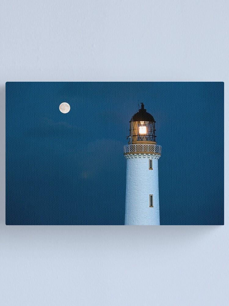 Alternate view of Night Lights Canvas Print