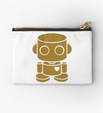 O'BOT: Love is Golden Zipper Pouch