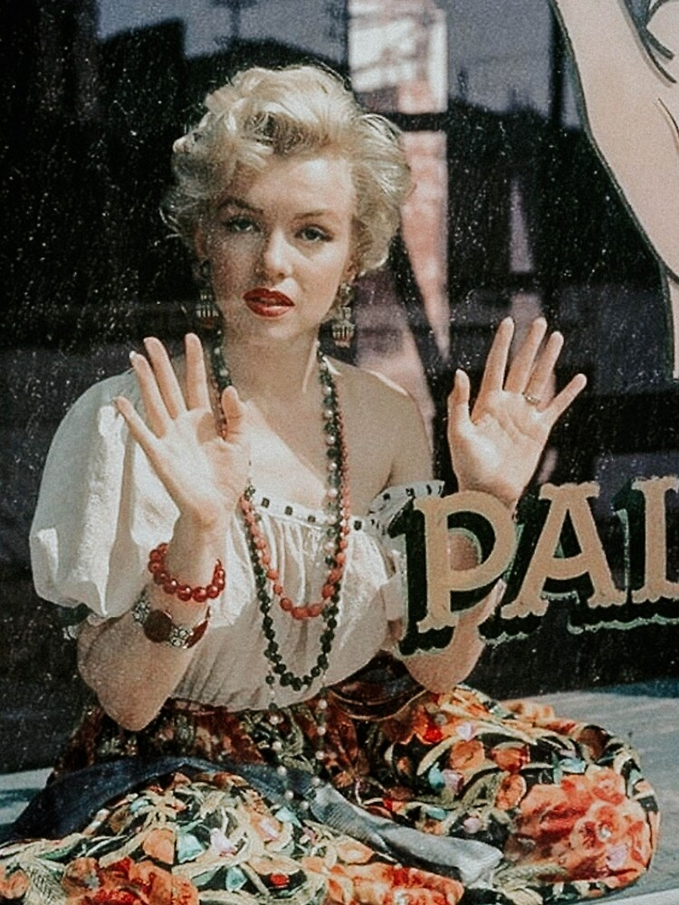 Witchy Marilyn Monroe at Her Palm Reading by Angelacassiani