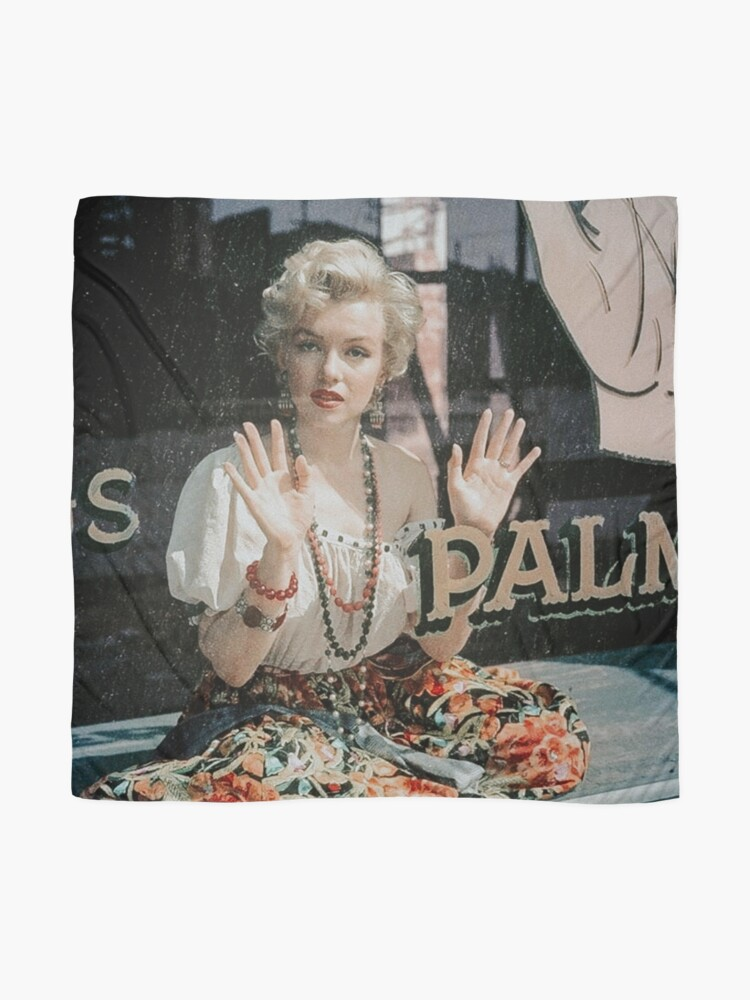 Alternate view of Witchy Marilyn Monroe at Her Palm Reading Scarf