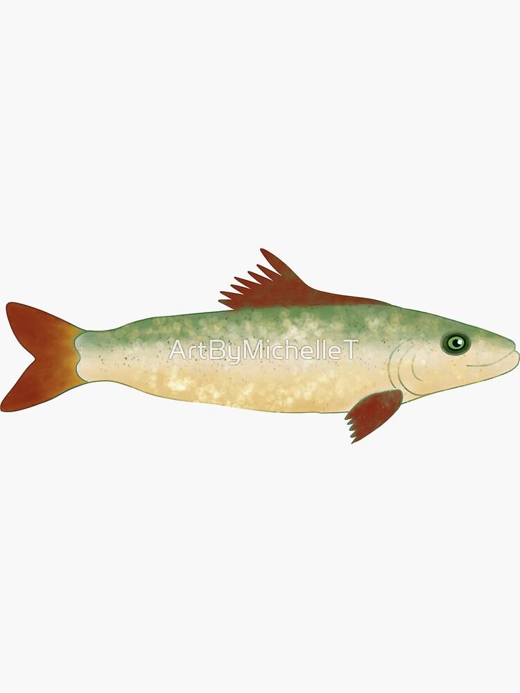 Trout Fish Illustration  by ArtByMichelleT