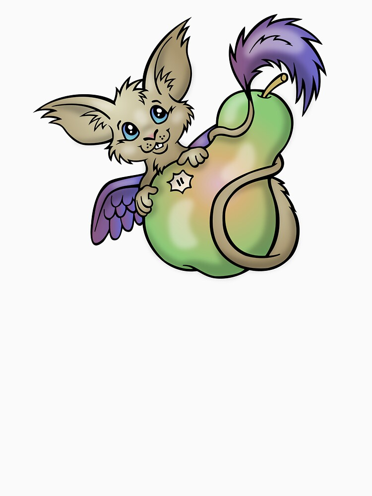 Yummy! - Fantasy Critter with Pear by CGafford