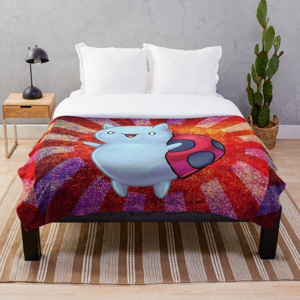 Catbug Parade Throw Blanket