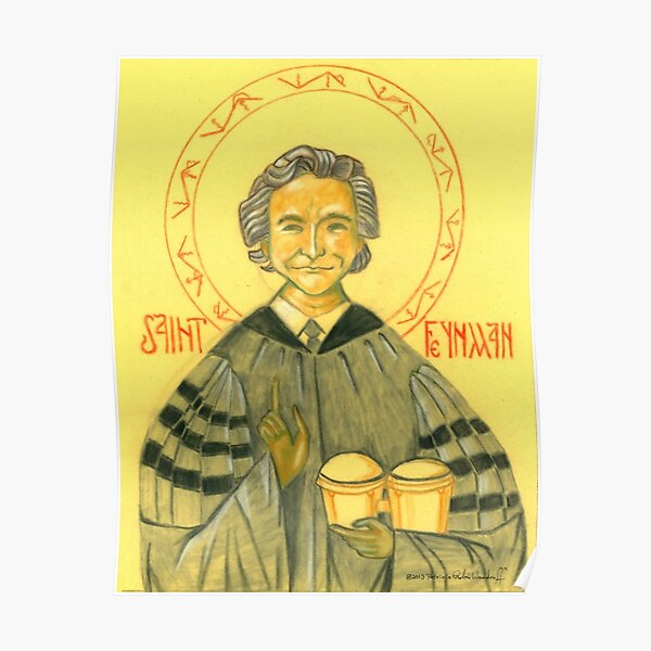 Saint Feynman Poster
