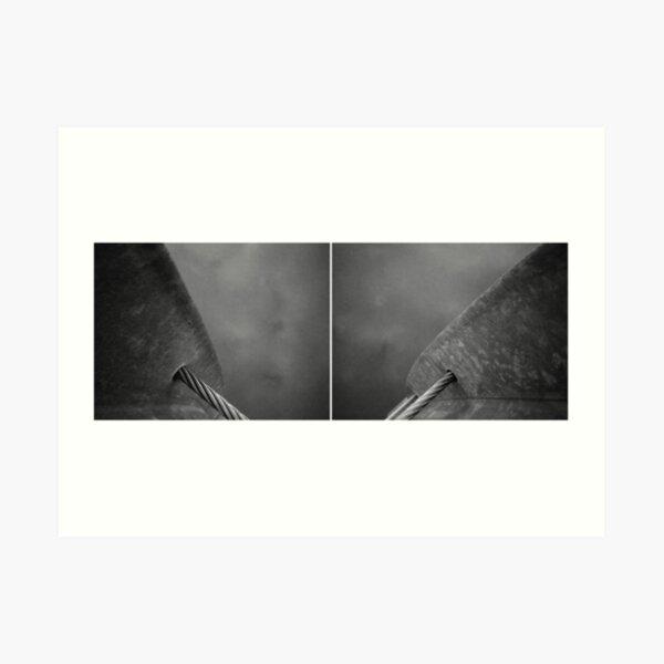 Floating Bridge (diptych 7/8) Art Print