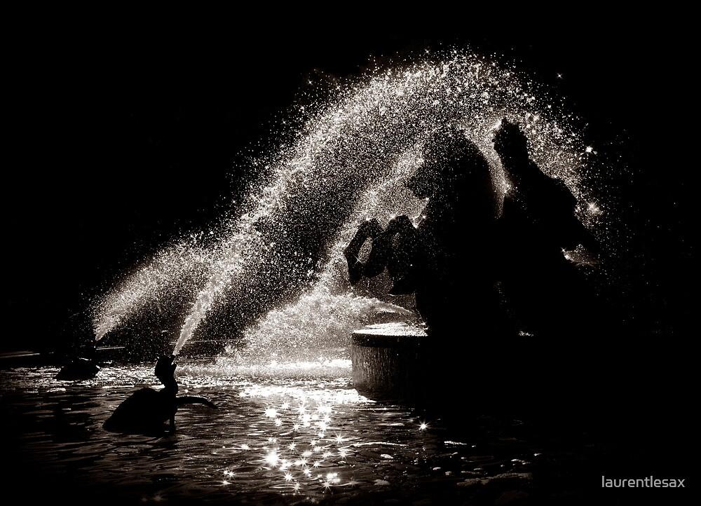 Horses fountain by laurentlesax
