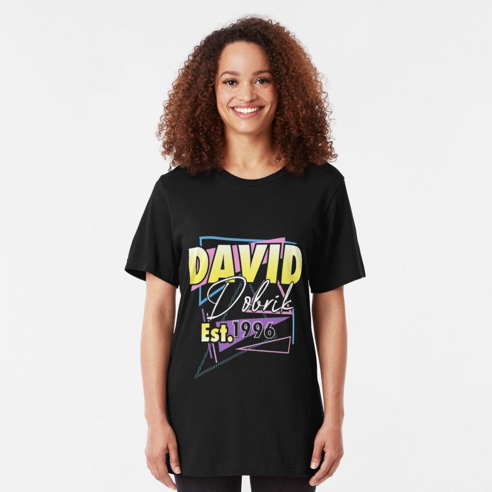 Womens David Dobrik Retro Birthday Tee  v-neck shirt