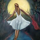 Dancing in the moonlight (detail) by Kostas Koutsoukanidis