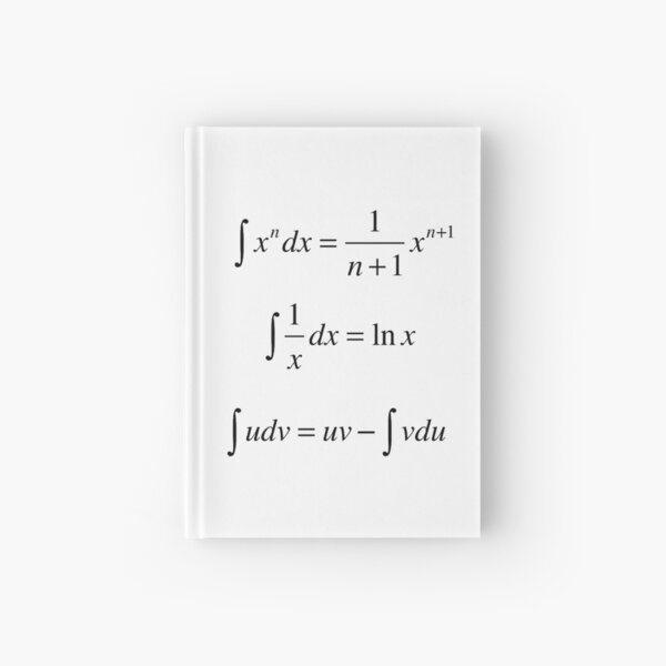 #Integrals, #math, #calculus, #mathematics, Integral, natural, logarithm, naturalLogarithm, exponent Physics Hardcover Journal