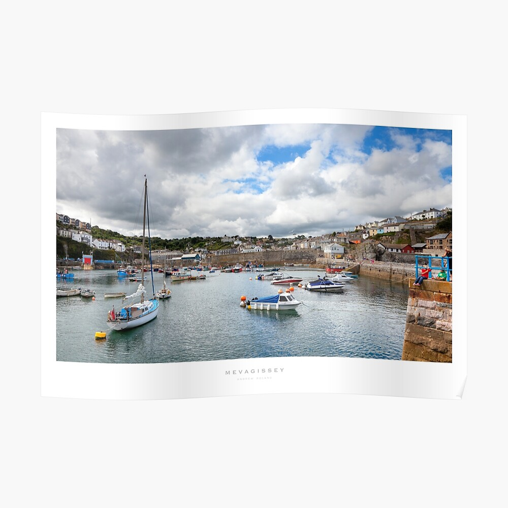 Mevagissey, Cornwall Poster
