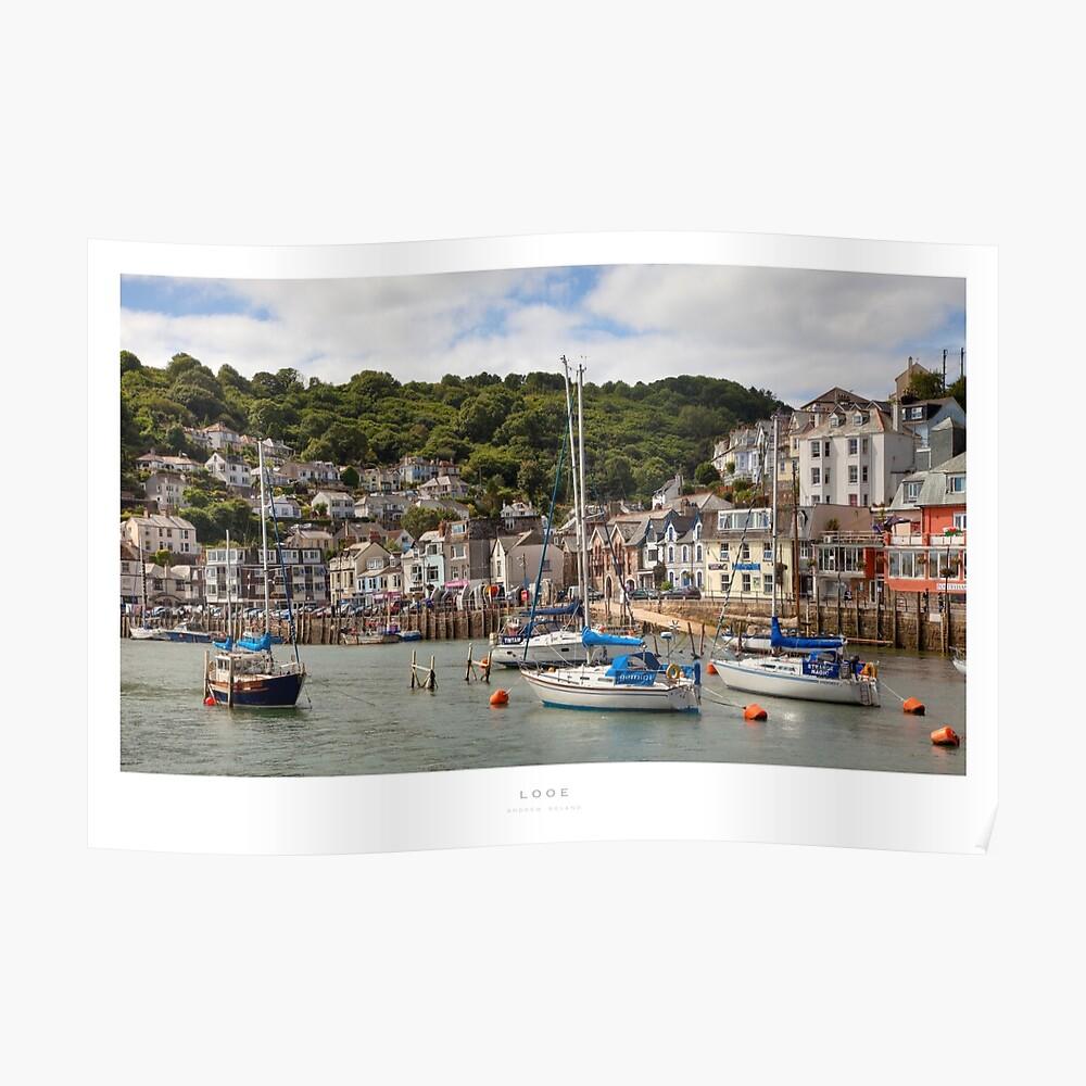 Looe, Cornwall Poster