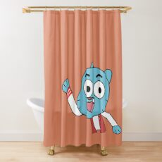 Hello Gumball Watterson!  Shower Curtain