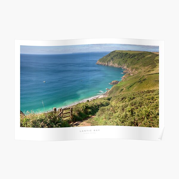 Lantic Bay, Cornwall Poster