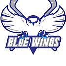 Blue Wings  (White) by jpappas