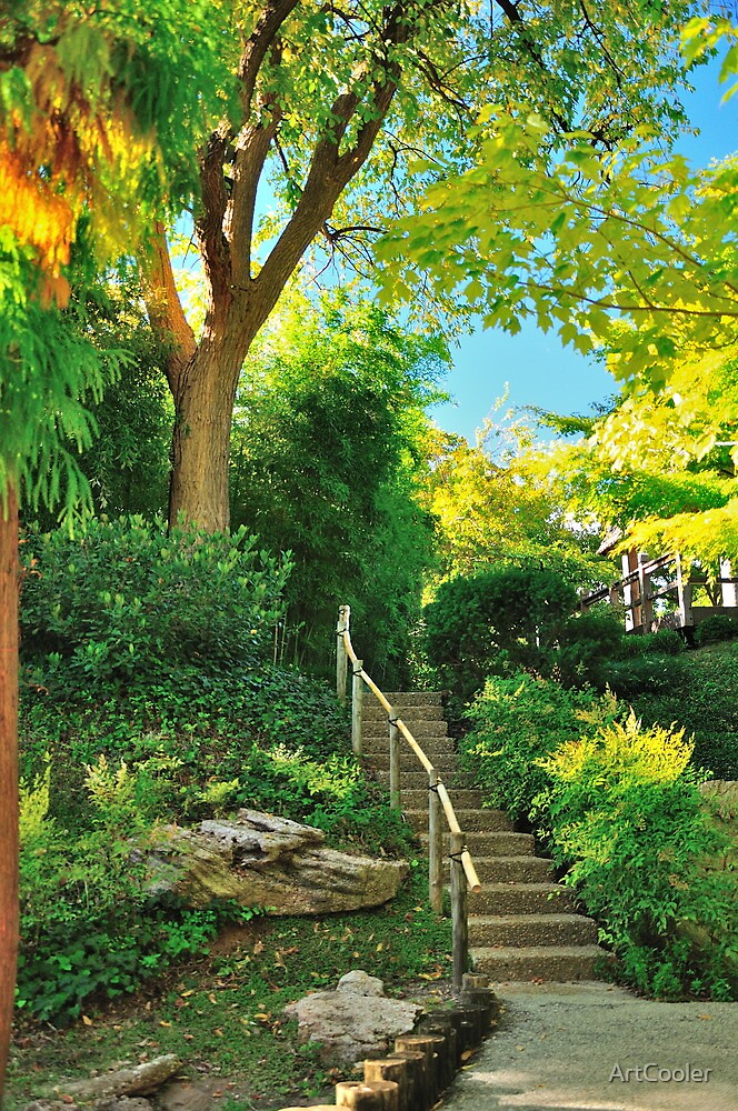 Japanese Gardens, Fort Worth, TX USA by ArtCooler