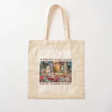 Times Square II Special Edition I Cotton Tote Bag